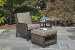 TAHOE 3 PIECE SEATING SET - Sofa and 2 Club Chairs