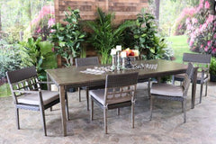 CEDARBROOK 7 PIECE DINING SET - Dining Table and 6 Arm Chairs