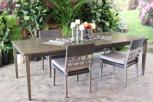 CEDARBROOK 5 PIECE DINING SET - Dining Table and 4 Side Chairs
