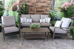 CEDARBROOK 4 PIECE SEATING SET -  Sofa, 2 Club Chairs and Coffee Table