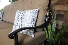 LYNNWOOD 3 PIECE SEATING SET - Love Seat, Club Chair and Swivel Rocker