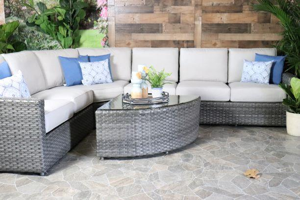 Biscayne 4 Piece Sectional