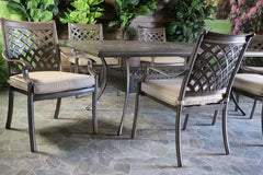 OAKCREST 11 PIECE DINING SET - 60