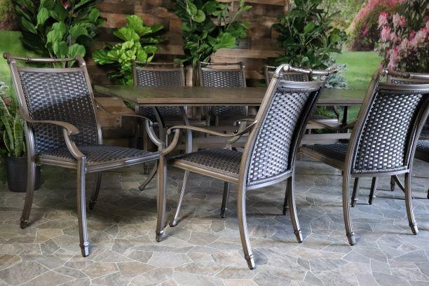 ARUBA 9 PIECE DINING SET - 46