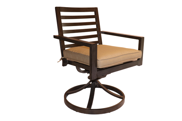 Palm Springs Swivel Dining Chair