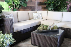Portofino Sectional and Coffee Table