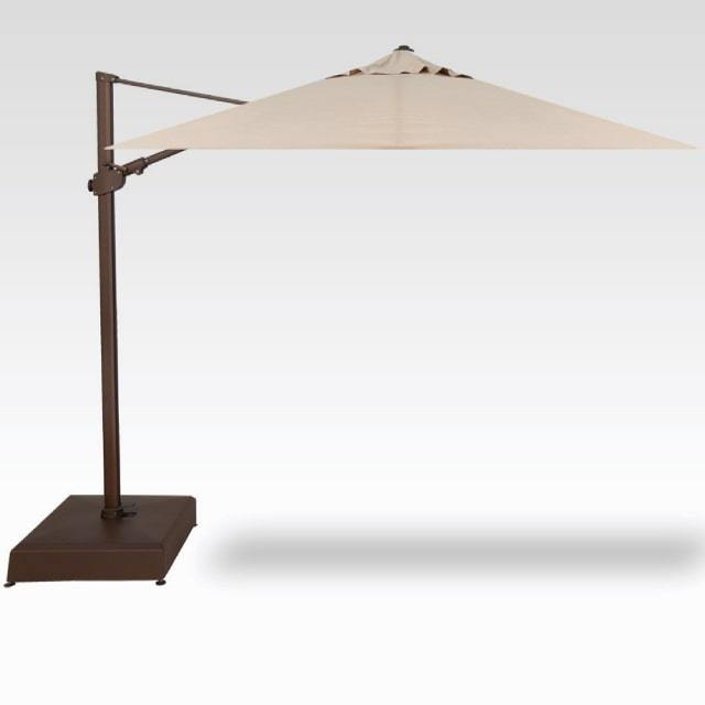 SPECIAL PURCHASE - 10' x 10' Cantilever Umbrella - Champagne