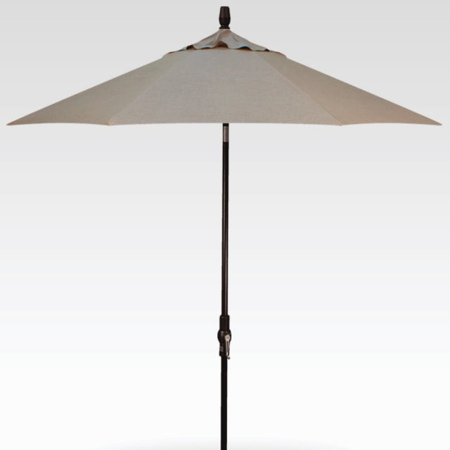 9ft Auto Tilt Umbrella - Cast Ash
