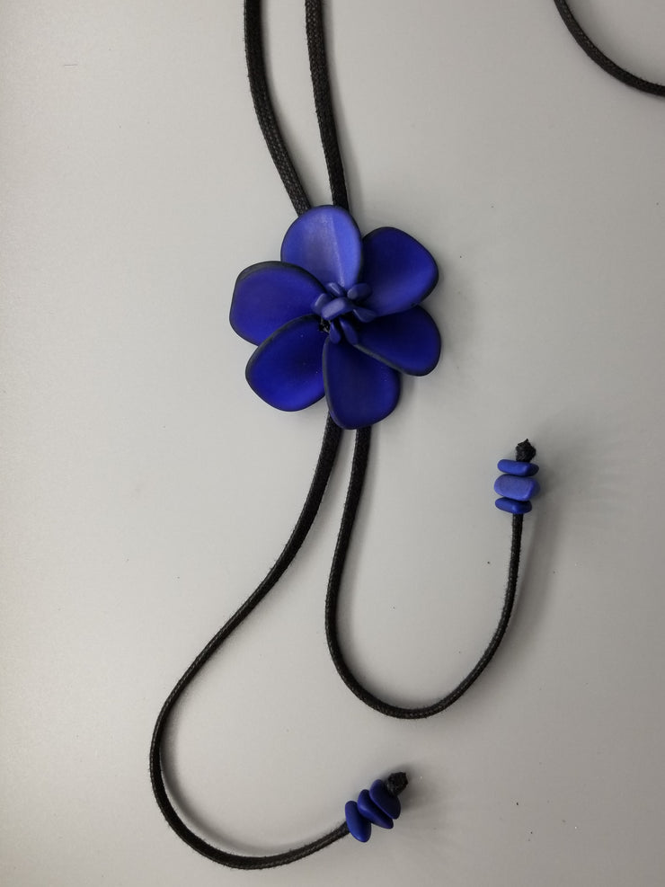 Sculpted Flower Pendant