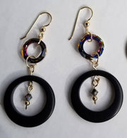 Sparkle Tagua Earrings