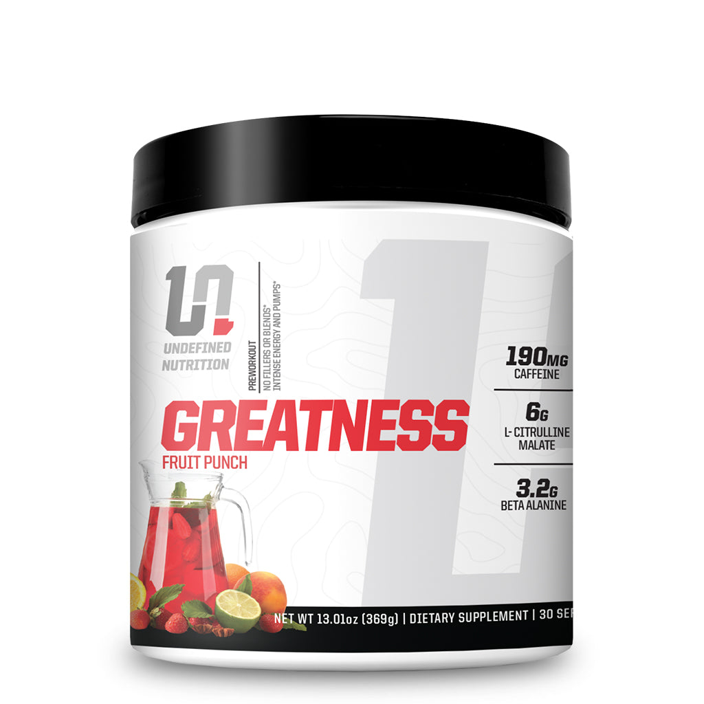 Undefined Nutrition Pre-workout Fruit Punch