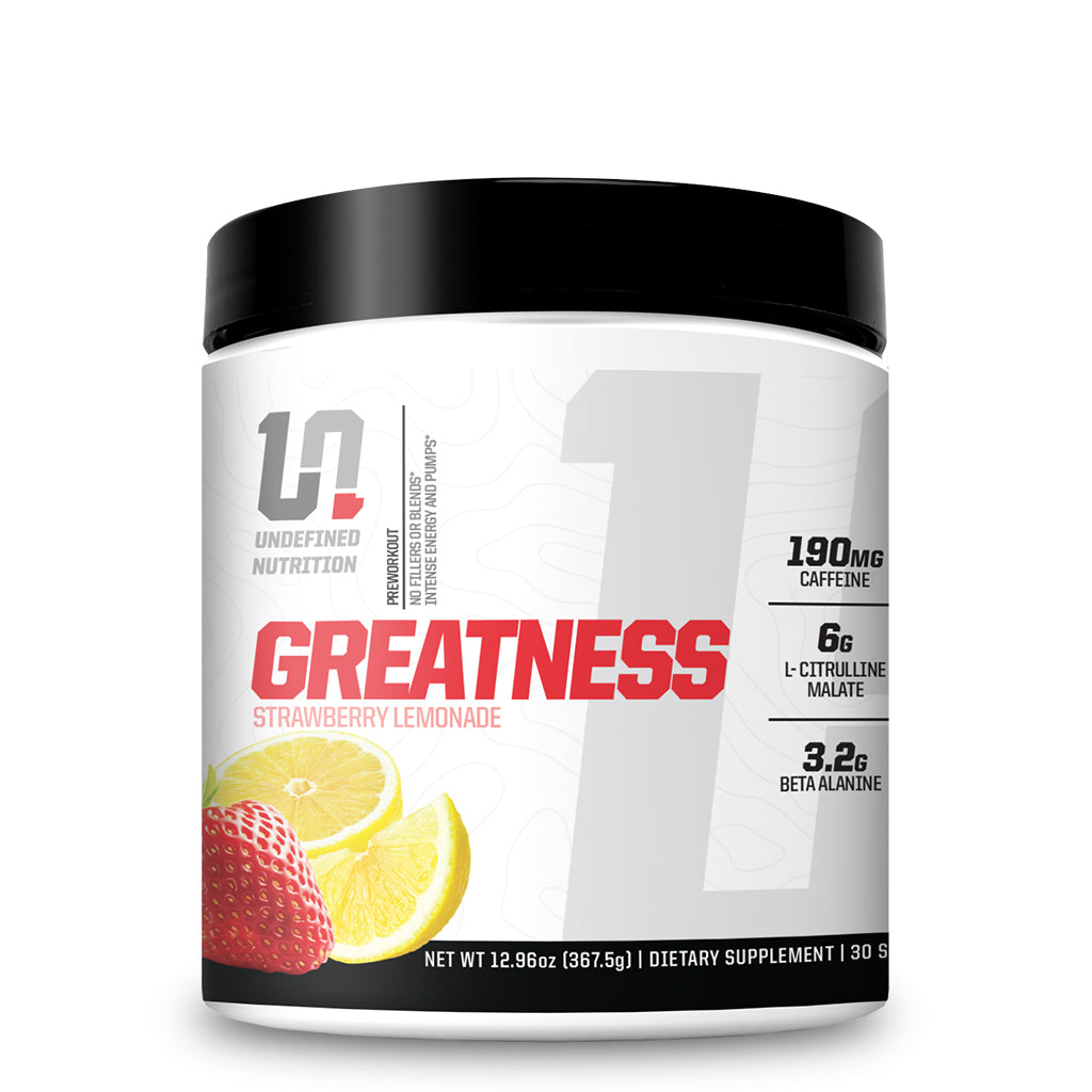 GREATNESS | Preworkout