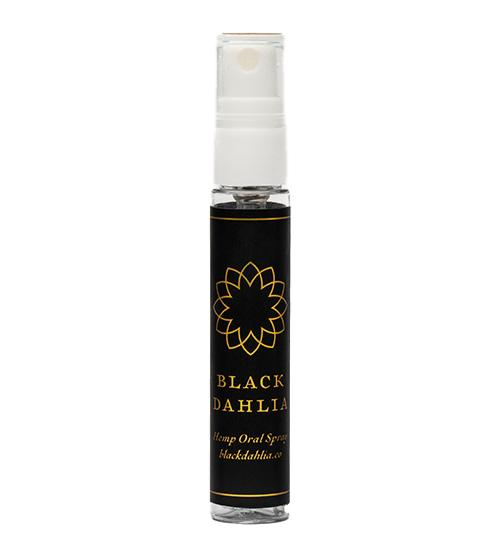 CBD Oral Spray Peppermint Black Dahlia