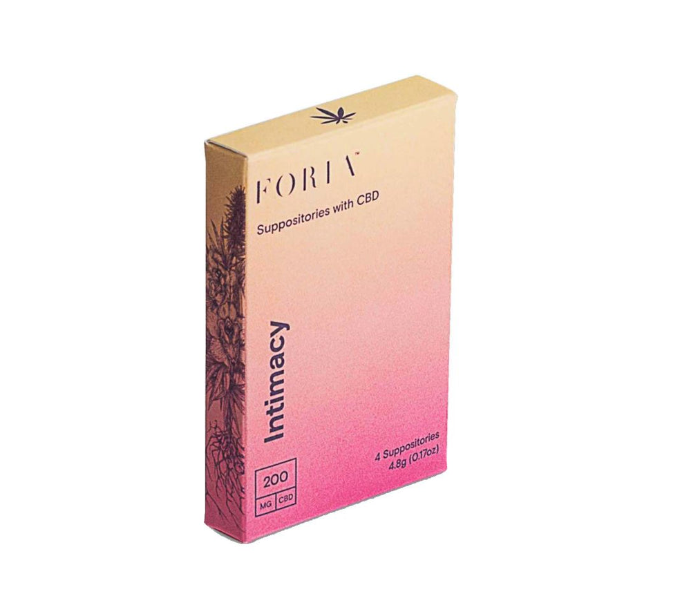 Intimacy Suppositories Foria