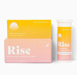 Rise Effervescent Tablets The Good Patch Citrus