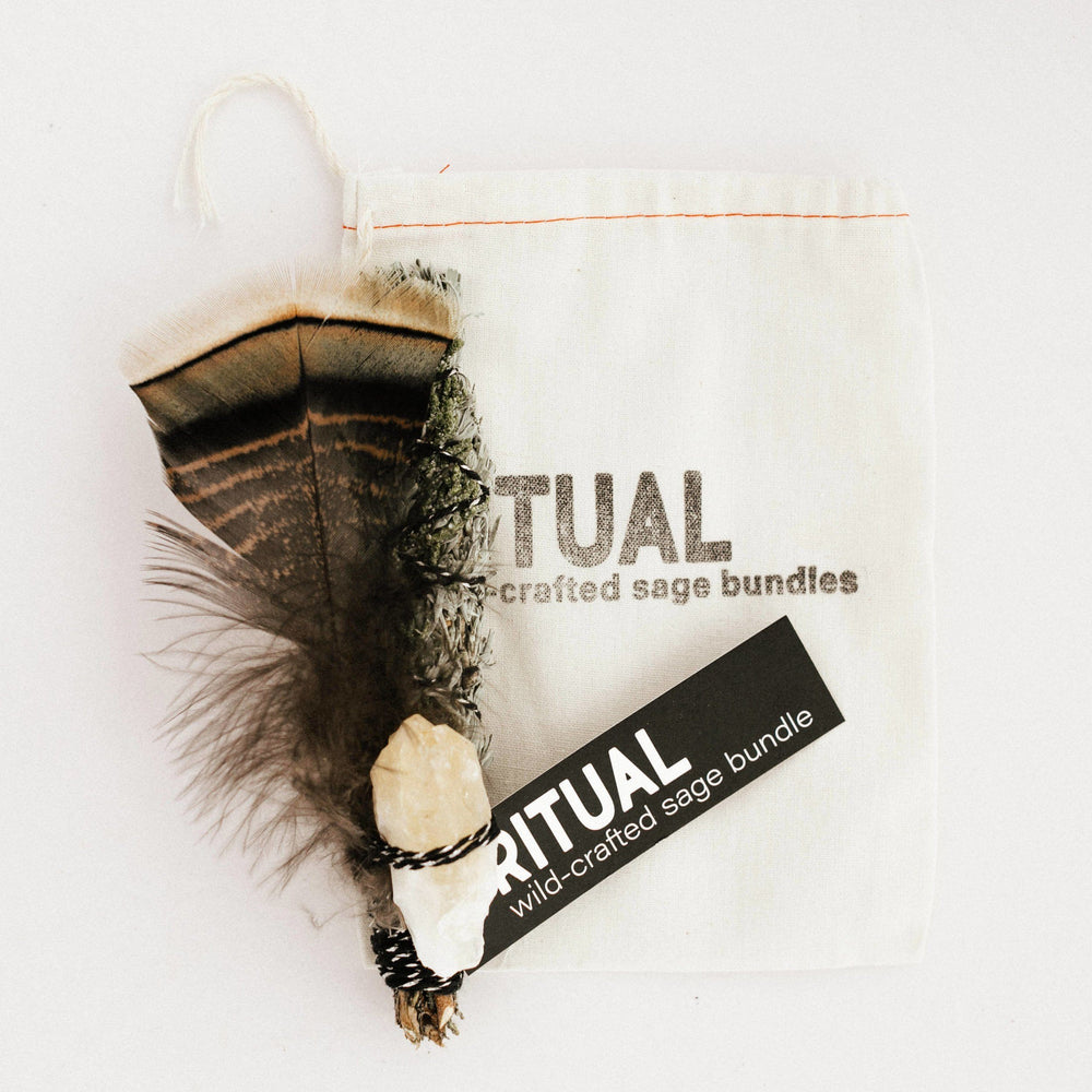 Ritual | Sage + Juniper Bundle | Citrine Con-Lo Common