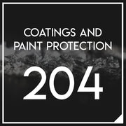 Coatings and Advanced Paint Protection 204