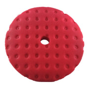 Lake Country CCS Red Ultra Fine Finessing Foam Curved Pad 6.5/7.5""