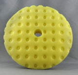 Lake Country CCS Yellow Cutting Foam Curved Pad 6.5/7.5""