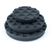 "Shine Mate - Black Diamond Grey Foam Light Finishing Pad (4""/6""/7"")"