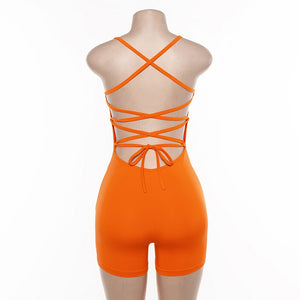 """BABY GIRL"" HTBodycon romper (S,M,L)"