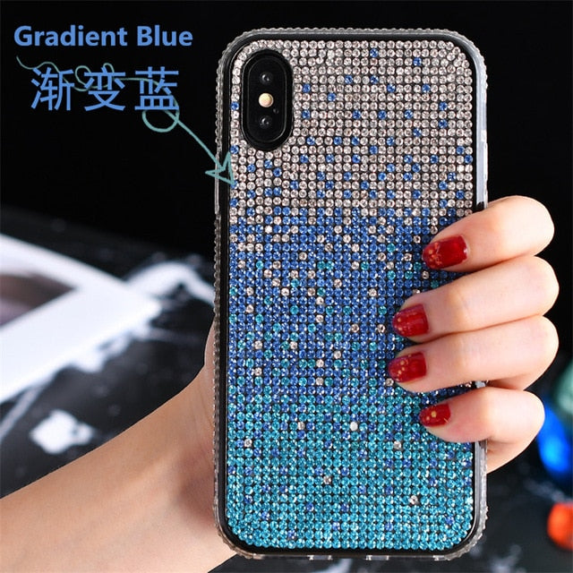 """GLITTER CRYSTAL"" HTB Iphone Cases"