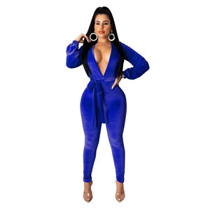 """NINJA NINA"" HTBodycon jumpsuit (S-XL)"