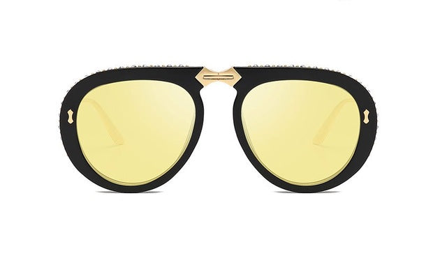 HTB Retro Diamond Luxury Sunglasses