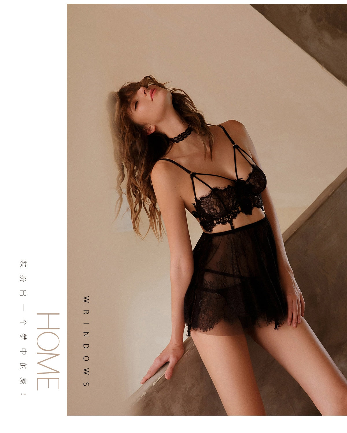 """LEFT TO IMAGINE"" HTBabe Lingerie"