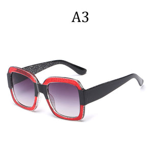 HTB Square Luxury Sunglasses Oversize