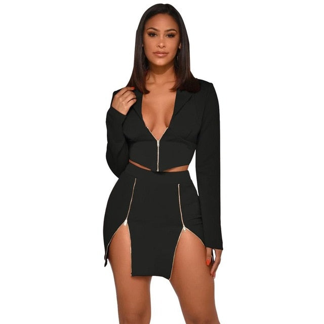"""LEG-N-DAIRY"" 2pc HTBabe Set (S-XL)"