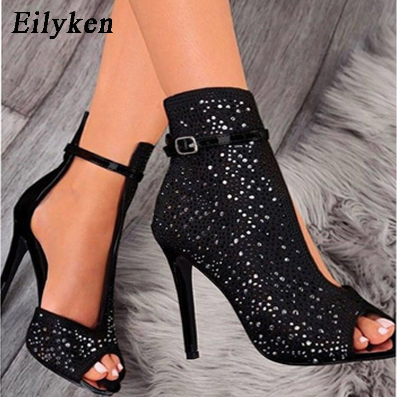 """GLITTER FOOT"" HTBabe Bootie (4-12)"