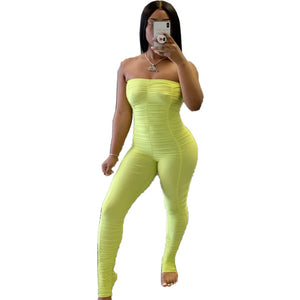 COCKY AF Bodycon Tube Jumpsuit (S-XL)