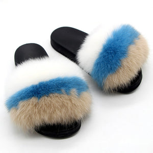 Foxy Furry Slippers (6-11)
