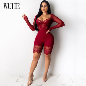 RIDE 'R DIE Bodycon Romper (S-2XL)