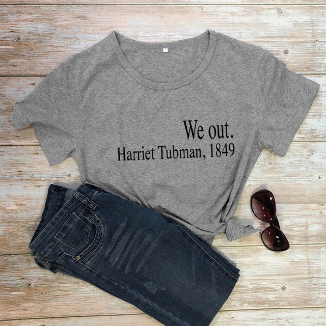 """WE OUT H.Tubman"" UNISEX HTB T-shirts (S-3XL)"