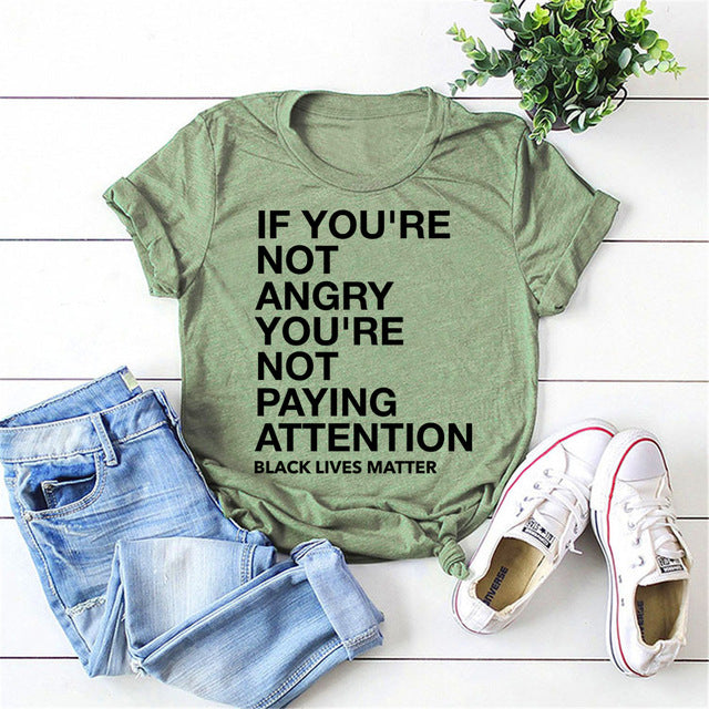 """PAY ATTENTION"" UNISEX HTB T-shirt (S-3XL)"