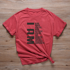 """I AM"" HTB T-Shirt (XS-2XL)"
