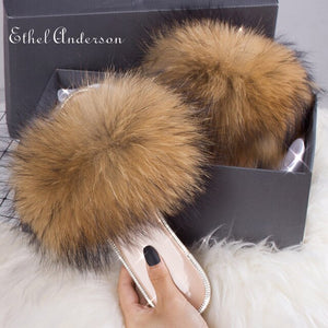 """FOXY BROWN"" HTB Crystal Fur (6-10.5)"