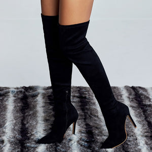 """TRIXIE"" Thigh-high HTBoots (5-10)"