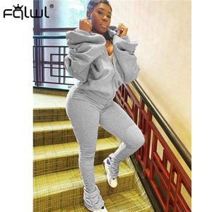 """WON'T BACK OUT"" 2pc HTBabe Backless Sweat suit (S-2XL)"