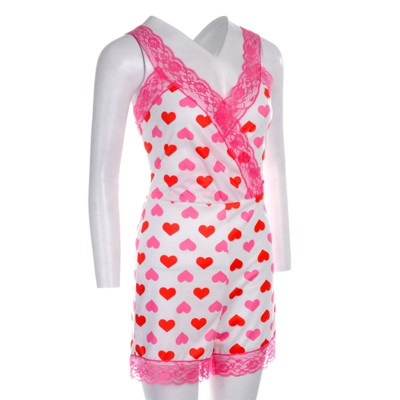 """CROSS MY HEART"" HTBabe sleepwear (S-XL)"