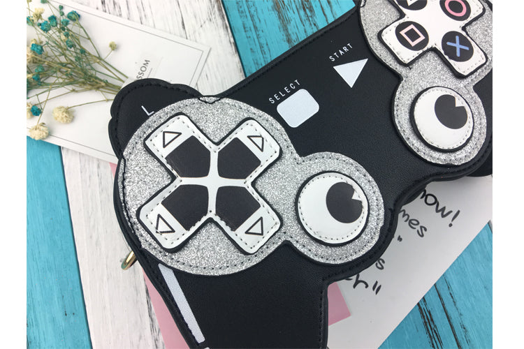 """PLAY IF YOU MAY"" Crossbody HTBag"