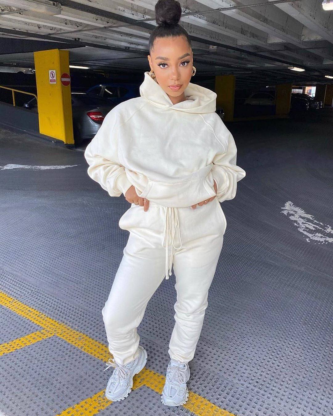 """HOODED BRAT"" HTBabe Jogger Set (S-2XL)"