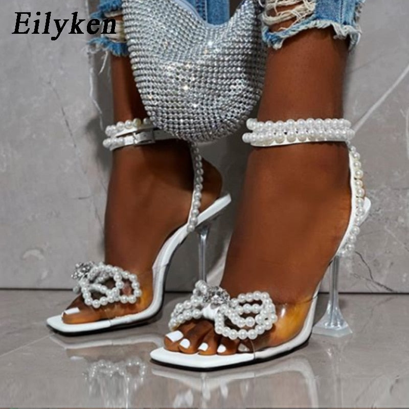 """BEADED BOW"" HTBabe heels (4-11)"