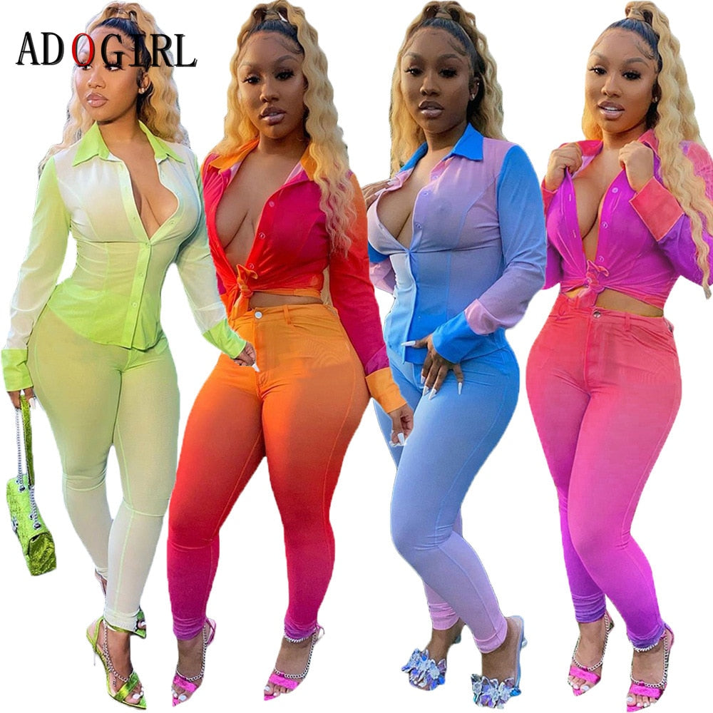 """RUDE GAL"" 2pc HTBabe Set (S-2XL)"