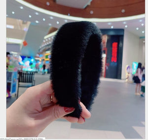 """RABBIT FUR"" HTBabe Headbands"