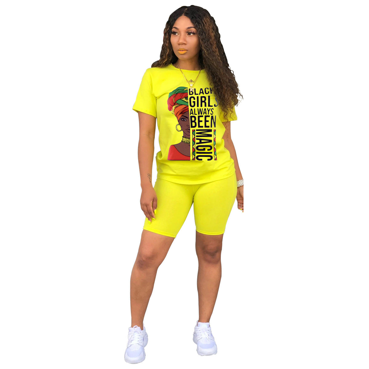 """MAGICAL MELANIN"" 2pc HTBabe Set (S-2XL)"