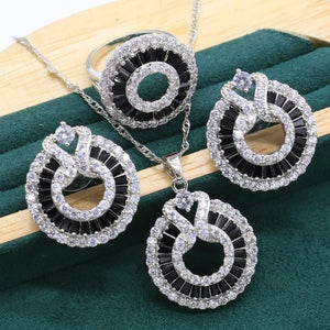 """BLACK & WHITE"" HTB Crystal Set (3pc & 4pc)"