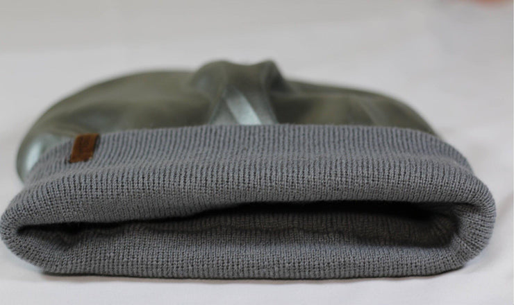 The Fit Beanie in Grey - COSI & co.